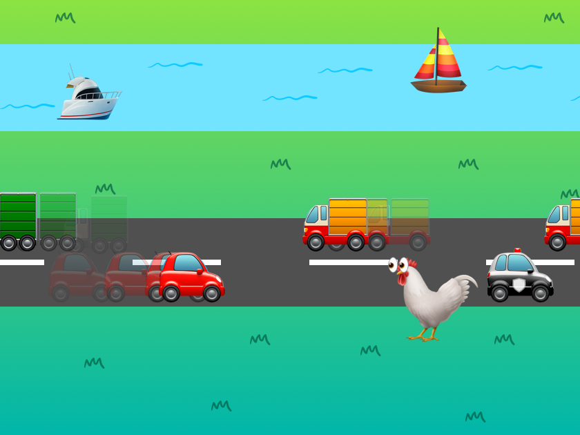 Card crossy road